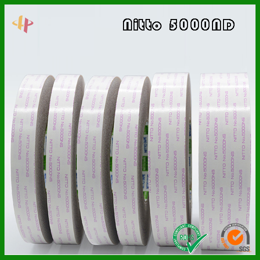 Nitto 5000ND can repeatedly bond double-sided tape of nonwovens substrate _ Nitto no.5000ND